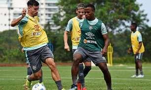 Quarteto do Fluminense treina bem e aumenta chance de voltar à equipe diante do Cuiabá