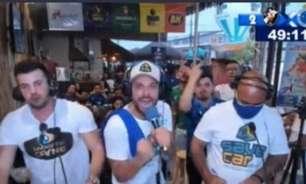 Gafe da Globo engana narrador, que perde a cabeça após gol do Cruzeiro: 'Pega a bola e vai para p... do meio