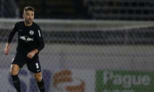 Léo Ortiz deixa Arena Fonte Nova 'chateado' com empate do Bragantino