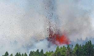 Vulcão entra em erupção nas Ilhas Canárias espanholas