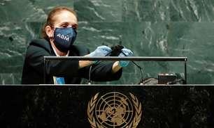 ONU higienizou púlpito após fala de Bolsonaro; assista