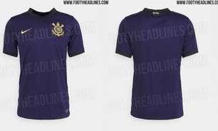 Corinthians: site publica fotos vazadas do novo 3º uniforme