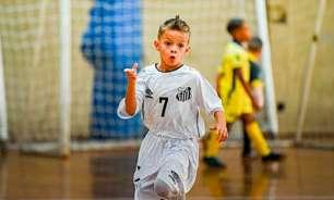 No Futsal, Santos prepara o seu Cristiano Ronaldo; conheça o garoto!