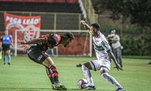 Coritiba fica no empate com o Vitória e se mantém isolado na liderança da Série B