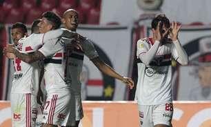 São Paulo busca defender retrospecto positivo contra o Atlético-MG no Morumbi