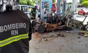 Com gasolina cara, brasileiros se arriscam com gás de cozinha em carro