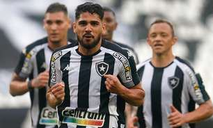Botafogo deve ter mudanças para enfrentar o Cruzeiro; confira