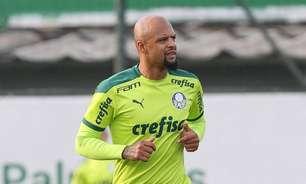 Escalação do Palmeiras: Felipe Melo e Menino voltam; Verdão treina para enfrentar o Bahia