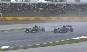 """Tsunoda admite ter segurado Hamilton na Turquia: """"Quero que Verstappen vença"""""""