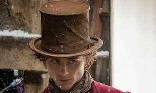 Timothée Chalamet revela primeira foto como Willy Wonka