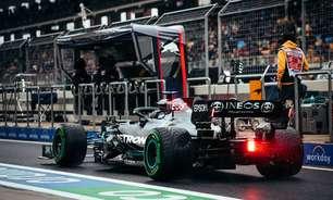 Hamilton e o desgaste dos pneus no GP da Turquia de F1