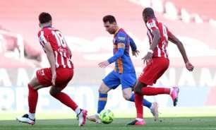 Diego Simeone revela que tentou levar Messi ao Atlético de Madrid após saída do argentino do Barcelona