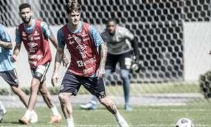 Com Luizinho, Santos divulga relacionados para partida contra o Atlético-MG