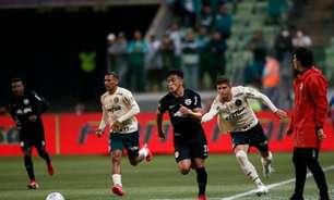 Com 4 pontos, Palmeiras está na lanterna do 2º turno do Brasileirão