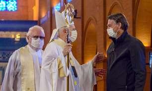 Bolsonaro vai a Santuário de Aparecida e ouve sermão crítico