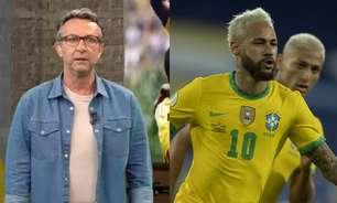 Neto não perdoa desabafo de Neymar: 'Quem disse que você será convocado em 2026?'
