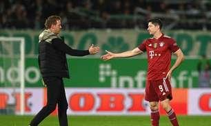 Técnico do Bayern de Munique, Julian Nagelsmann diz que Lewandowski merece a Bola de Ouro
