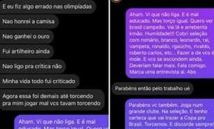 """Jornalista revela briga com Richarlison: """"Se acha intocável"""""""