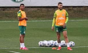 Palmeiras segue preparação na Academia de Futebol para enfrentar o Internacional