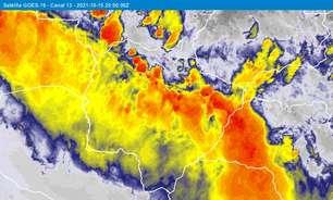 Novas tempestades de areia voltam a atingir o interior do Brasil