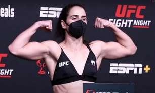 Liderados por Norma Dumont, brasileiros batem o peso na pesagem do UFC Vegas 40