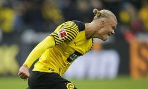 Haaland marca dois gols e Borussia Dortmund derrota o Mainz