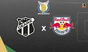 Ceará x Red Bull Bragantino: prováveis times, desfalques e onde assistir