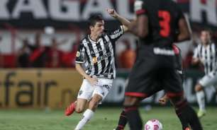 Atlético-MG sai na frente, mas perde de virada para o Atlético-GO e vê sequência invicta terminar