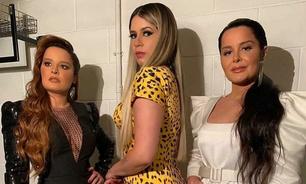 Marilia Mendonça usa look de R$ 17 mil no Domingão com Huck
