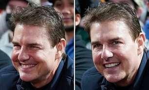 Tom Cruise chama atenção por aparência em jogo de beisebol