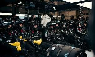 A Mercedes F1 não está de braços cruzados