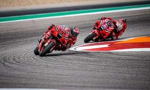 Ducati forma aliança para ajudar Bagnaia a derrotar Quartararo na reta final da MotoGP