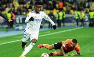 Vinicius Jr comenta grande atuação pelo Real Madrid na Champions: 'Sempre me dei bem com a pressão'