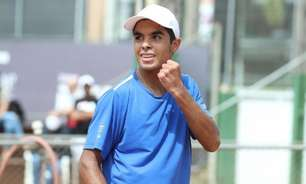 Paranaense de 16 anos de origem humilde faz 1º ponto na ATP
