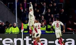 Monaco marca perto do fim e consegue vitória heroica contra o PSV pela Liga Europa