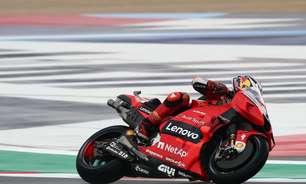 Quartararo pena na pista meio molhada em dia que Ducati domina tabela em Misano