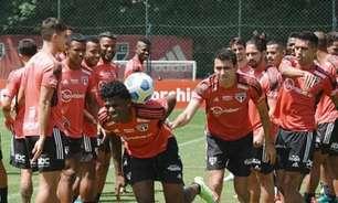 Com 'trote' em Arboleda, São Paulo treina de olho no Red Bull Bragantino