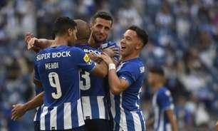 De virada, Porto vence o Tondela com três gols de Taremi e assume liderança parcial da Primeira Liga