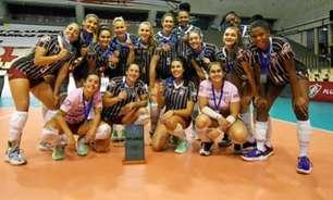 Fluminense iguala série, mas Sesc RJ Flamengo conquista o Campeonato Carioca de vôlei no Golden Set