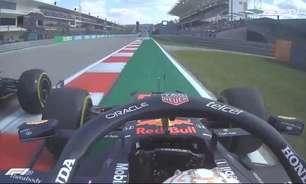 "Verstappen para Hamilton: ""Estúpido! Idiota!"" (e era treino)"
