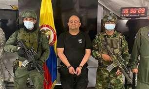 Colômbia prende narcotraficante comparado a Pablo Escobar