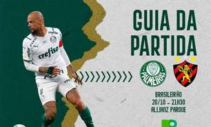 Palmeiras x Sport: onde assistir ao duelo pelo Brasileirão, arbitragem e escalações
