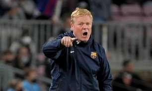 Técnico do Barcelona passa sufoco com torcedores para deixar Camp Nou após derrota no 'El Clásico'