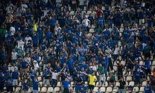 Cruzeiro inicia venda de ingressos para o duelo contra o Remo pela Série B do Brasileirão