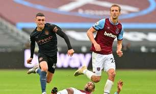 West Ham x Manchester City: onde assistir, horário e escalações do jogo da Copa da Liga Inglesa