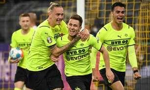 Com Reinier titular, Borussia Dortmund bate time da segunda divisão e segue na Copa da Alemanha