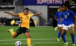 Após início ruim, Brasil se recupera e empata com Austrália