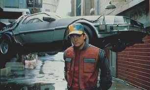 """Com Dr. Brown, Salão tem carro do """"De Volta para o Futuro"""""""