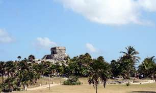 A 82km de Cancún, Tulum é antiga cidade maia em pleno Caribe