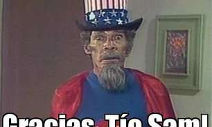 """Eliminatórias: em memes, México agradece """"Tio Sam"""" após ajuda dos EUA"""